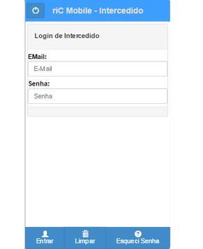 riC Mobile - Intercedido screenshot 1