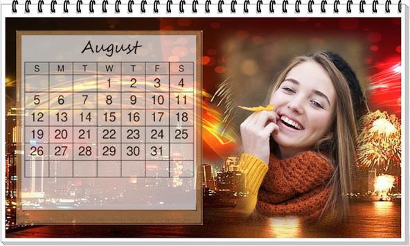 Calendar 2018 photo Frame Wallpaper HD screenshot 9
