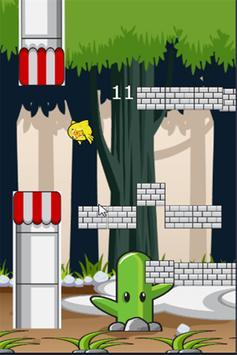 Flappy Pikachu Flyer screenshot 2