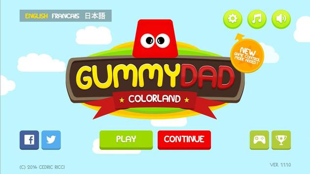 Gummy Dad Colorland poster