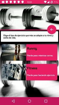 Dieta personalizada para perder peso y adelgazar screenshot 1