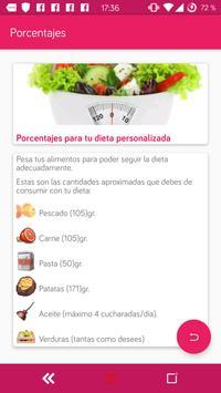 Dieta personalizada para perder peso y adelgazar screenshot 4