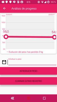 Dieta personalizada para perder peso y adelgazar apk screenshot