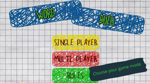 Word Duell poster