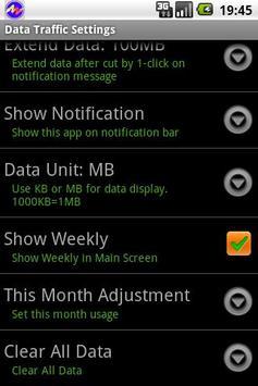 Data Traffic Control apk screenshot