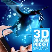 3D Dragon pocket pet simulator icon