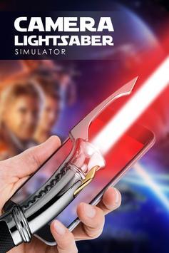Lightsaber camera simulator poster
