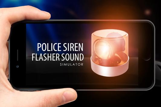 Police siren flasher sound screenshot 1