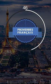 Proverbes français постер
