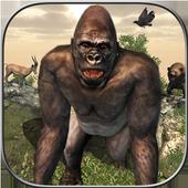 Gorilla Simulator 2017 icon