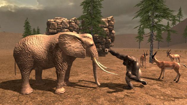 Gorilla Simulator 2017 screenshot 1