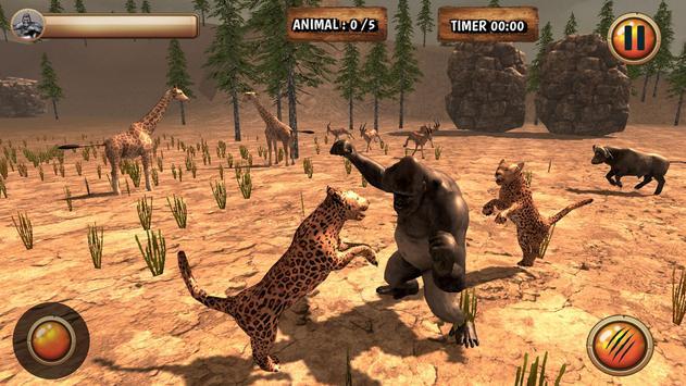 Gorilla Simulator 2017 screenshot 2