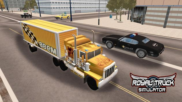 Royal Truck Simulator apk screenshot