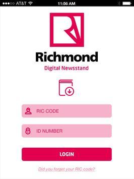 Digital Newsstand - Richmond apk screenshot