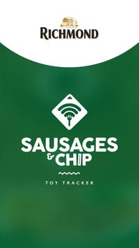 Richmond Sausages and Chip poster