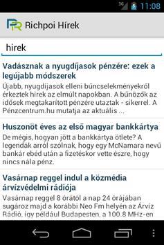 Richpoi Hírek apk screenshot