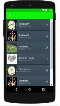 Sholawat Nabi Dan Zikir Mp3 screenshot 1