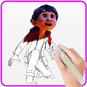 How To Color COCO Coloring Book For Adult 2 icon