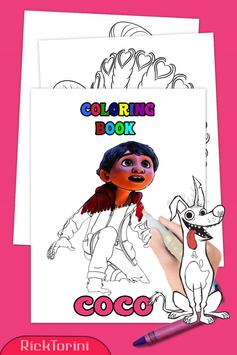 How To Color COCO Coloring Book For Adult 2 poster