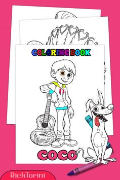 How To Color COCO Coloring Book For Adult 2 screenshot 1