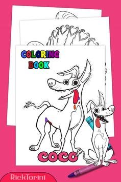 How To Color COCO Coloring Book For Adult 2 screenshot 5