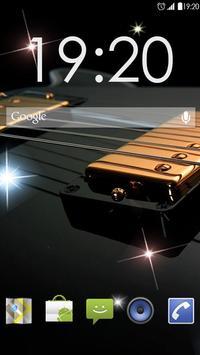 Awesom Guitar Live Wallpaper screenshot 1