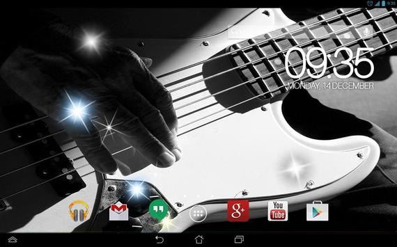 Awesom Guitar Live Wallpaper screenshot 2