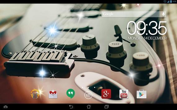 Awesom Guitar Live Wallpaper screenshot 3