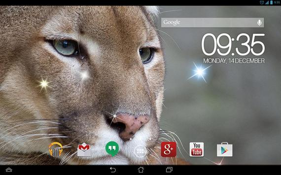 Awesome Puma  Live Wallpaper apk screenshot