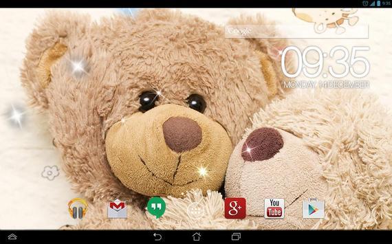 Teddy Bears Live Wallpaper screenshot 2