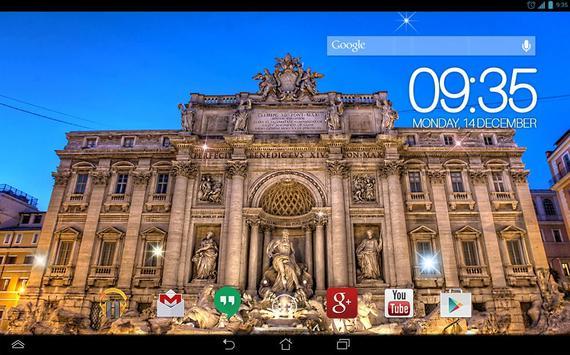 Trevi Fountain Rome Live WP screenshot 4