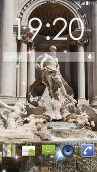Trevi Fountain Rome Live WP poster