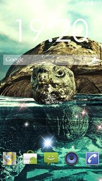 Underwater Turtles Live WP スクリーンショット 1
