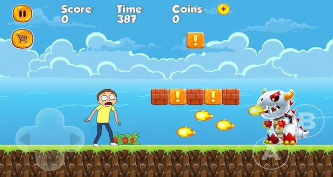 Super Rick adventures of morty screenshot 3