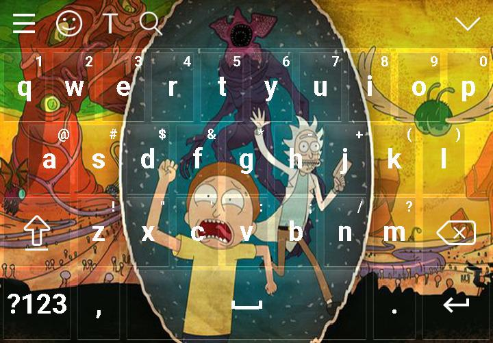 Keyboard For Rick And Morty Wallpaper New For Android Apk
