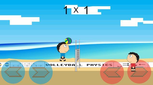 Volleyball Physics imagem de tela 2
