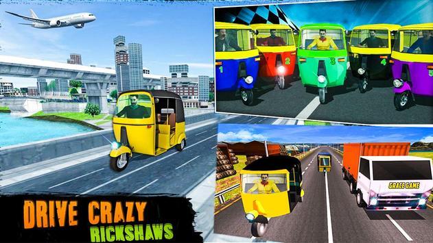 Extreme Rickshaw Traffic Challenge 2017 poster