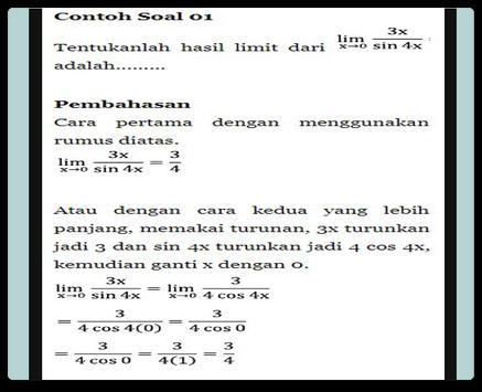 Limit Trigonometry Functions screenshot 3