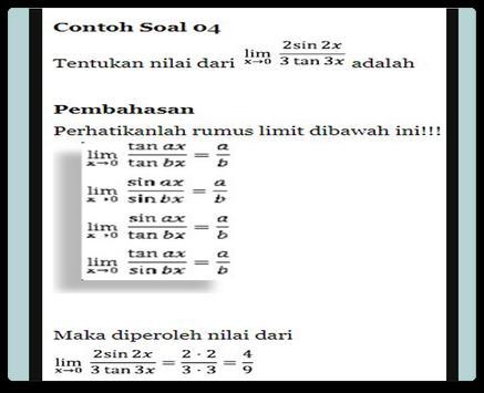 Limit Trigonometry Functions screenshot 4