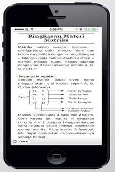 High School Mathematics Matrix apk screenshot