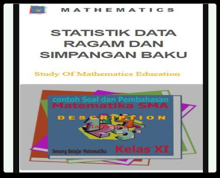 Statistics of Diversity and Standard Deviation Dat poster