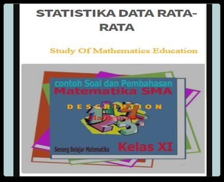 Statistics Average Data poster