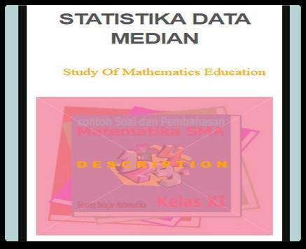 Statistics of Median Data poster