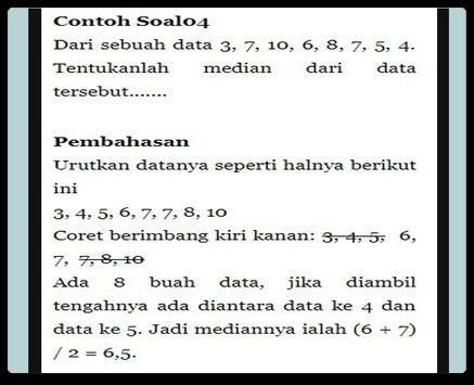 Statistics of Median Data apk screenshot