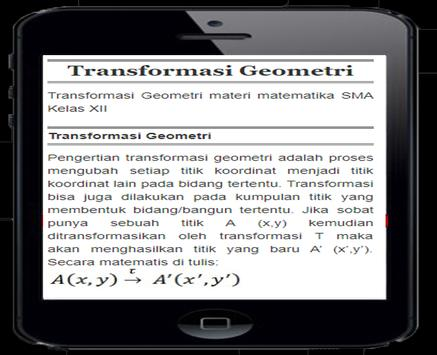 Transpormation Geometry poster