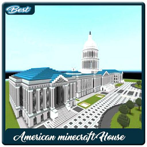Best American Minecraft House poster