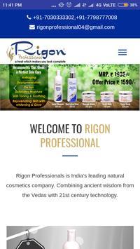 Rigon Professional poster
