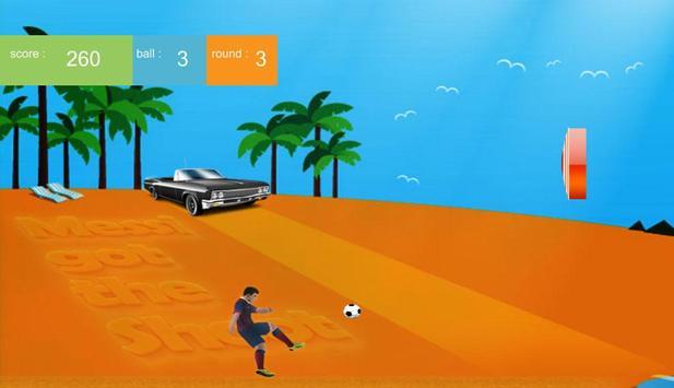 Messi's Got The Shoot Free apk screenshot