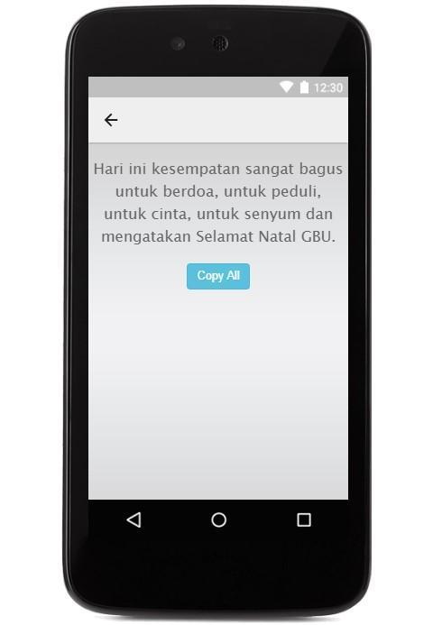 Kata Kata Salam Selamat Natal For Android Apk Download
