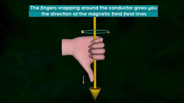 Right Hand Thumb Rule screenshot 1